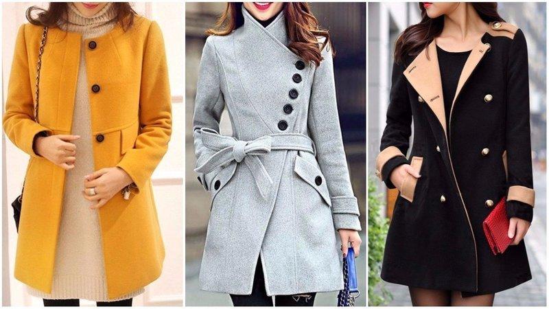 Вариации цветов пальто