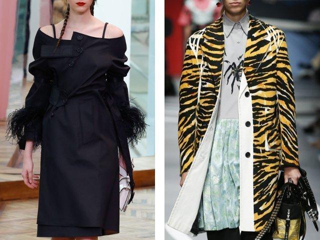 Модное пальто осень-зима 2018