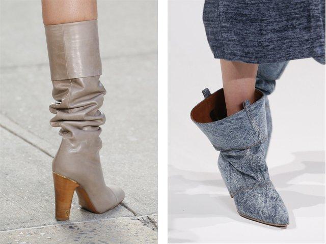 Модные женские сапоги осень-зима: 2018 (фото)