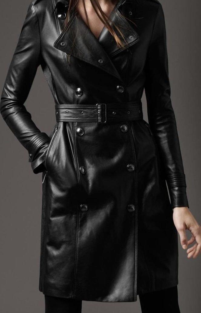 женщины в кожаных пальто фото это