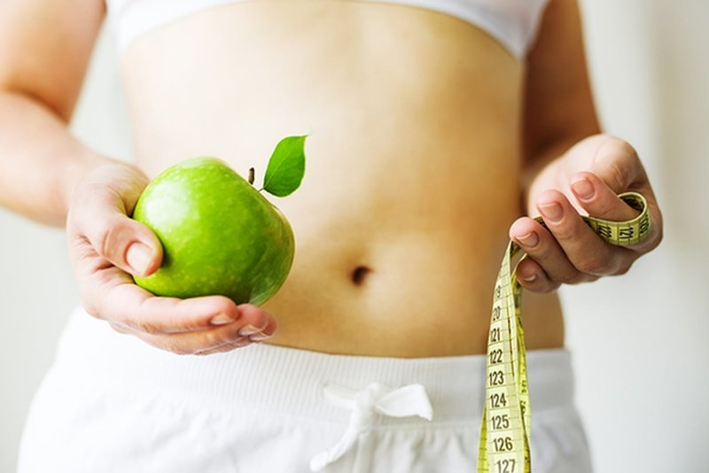 Похудение на яблочной диете