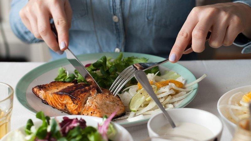 Прием пищи согласно расчету энергозатратности