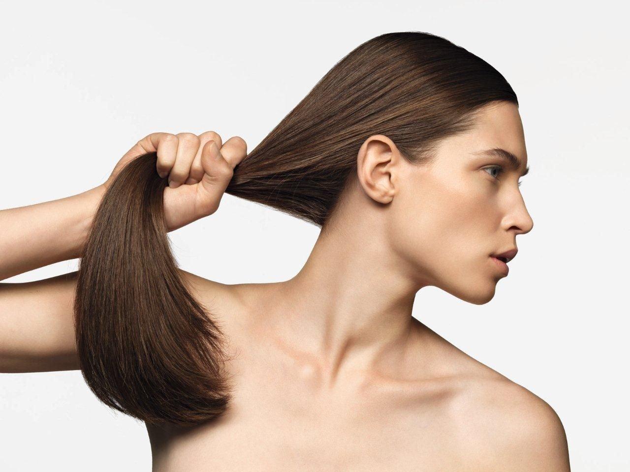 Для укрепления волос что были густыми