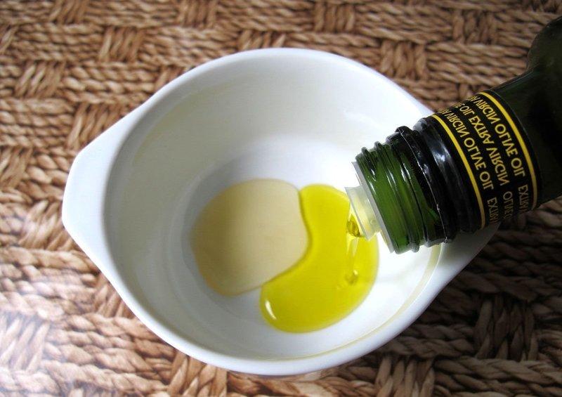Приготовление маски с оливковым маслом