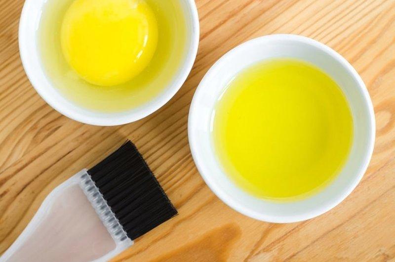 Маска для волос с яйцом