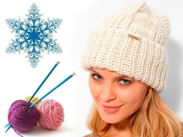 119 Поиск на Постиле: Женские шапочки спицами