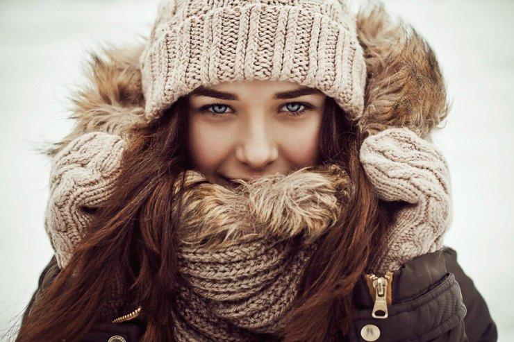 Модные женские шарфы и стильные образы с ними