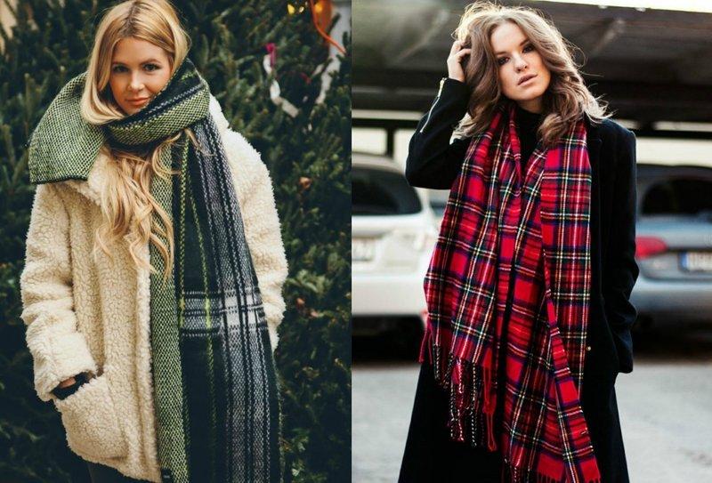 Скандинавская клетка: модные луки
