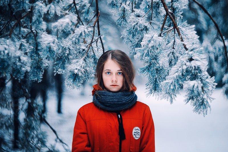 Модели женских шарфов на зиму