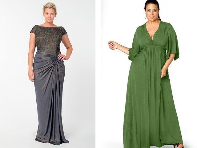 Платья макси для полных женщин купить