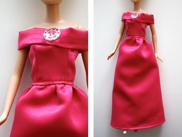 Как сделать платье для куклы для начинающих фото 789