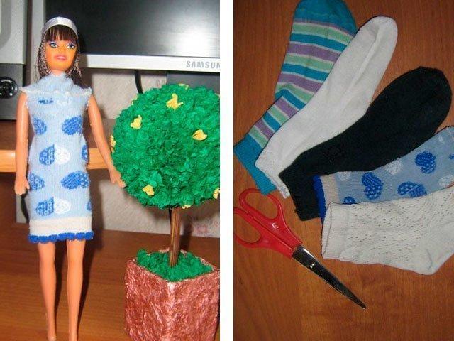 Как быстро сшить платье для куклы фото 664