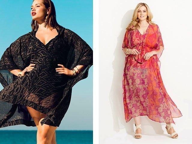 Летние платья из шитья на полных