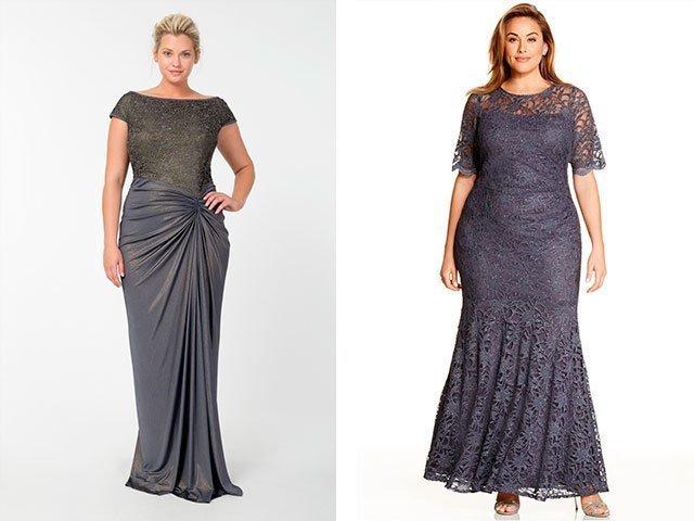 f8960b62578 Вечерние платья для полных женщин 2018 фото