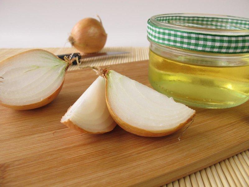 Ингредиенты для луковой маски