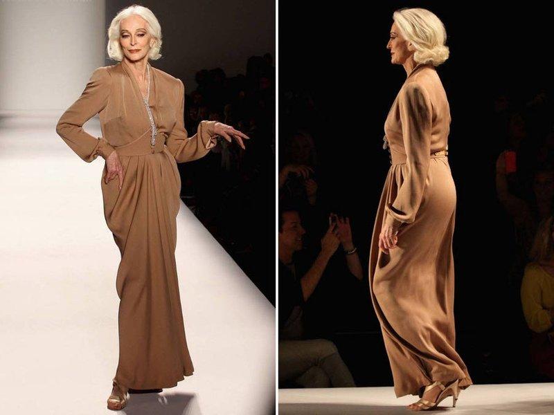 Модели для зрелых женщин