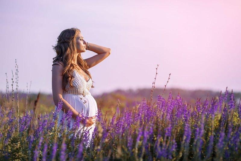Нежные образы для беременных девушек