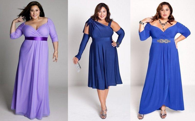 Модные образы для пышных дам