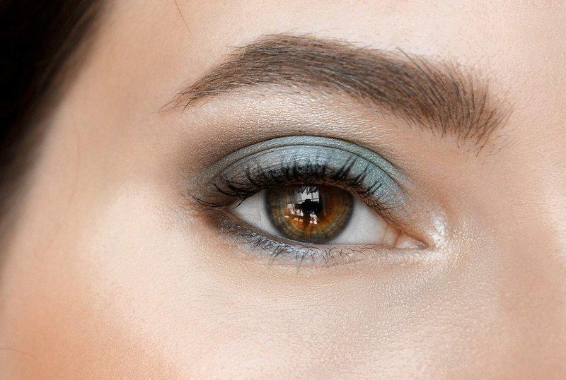 Весенний макияж для карих глаз
