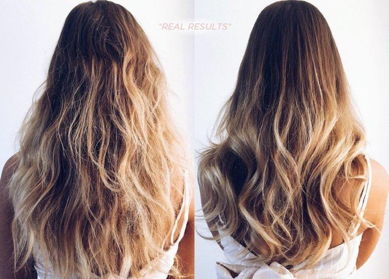 Ослабленные и выздоровевшие волосы