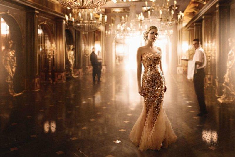 Фасон платья А-силуэта