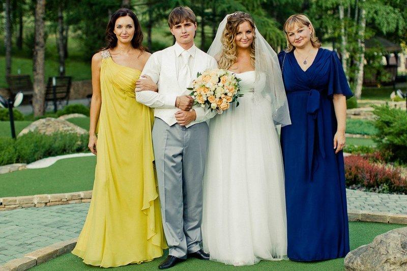 Платья для мамы жениха и невесты