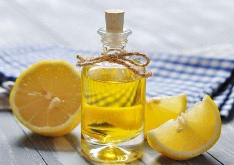 Масло репейника и лимон