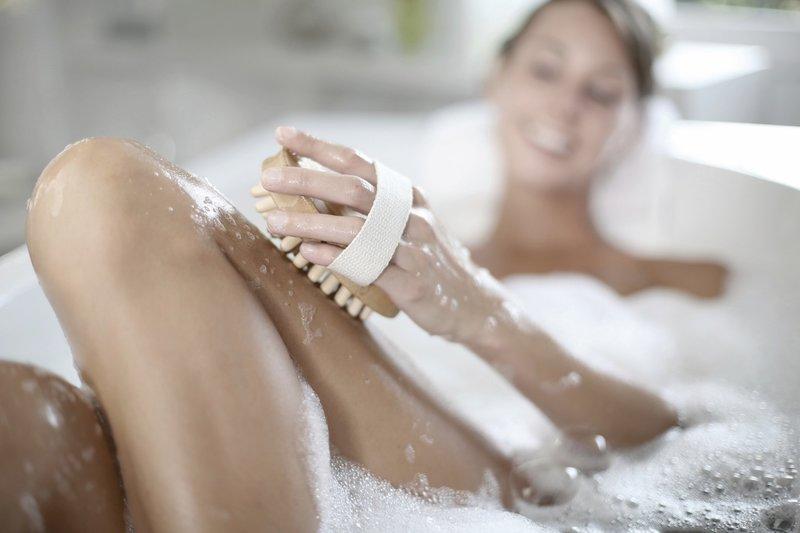Расслабляющая ванна с содой