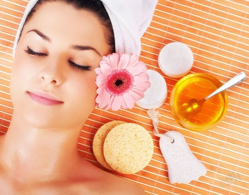 Мед для косметической процедуры