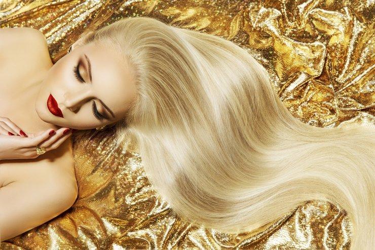 Маски для придания волосам блеска и шелковистости
