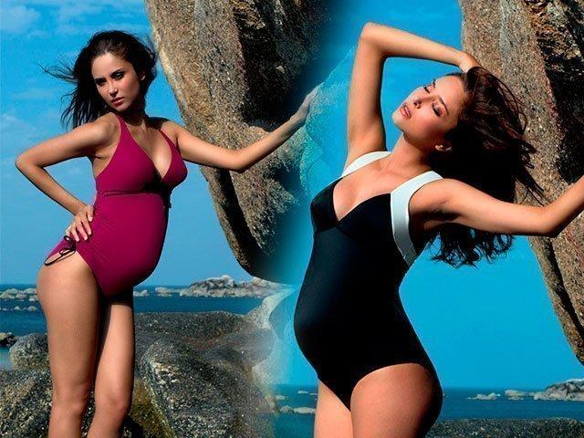 1 Красивые модели купальников для беременных. 1.1 Как выбрать ... 4f60348e0fd09