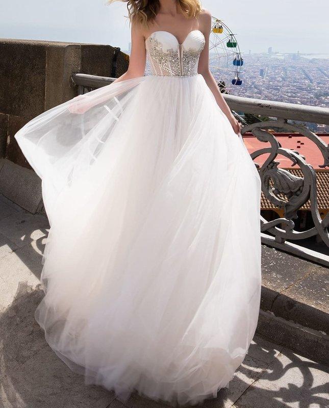 Свадебное платье Ida Torez Carrer