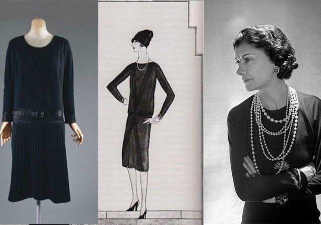 Оригинал платья и Коко Шанель
