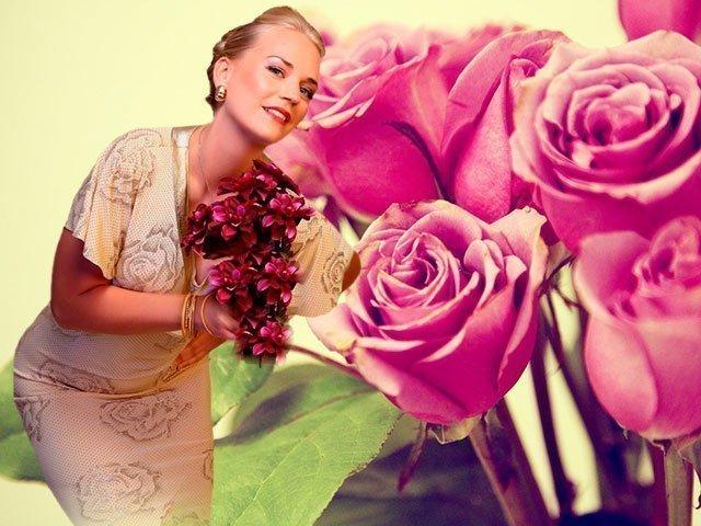 Изображение - Поздравления на 50 летие женщине в стихах красивые 1-41