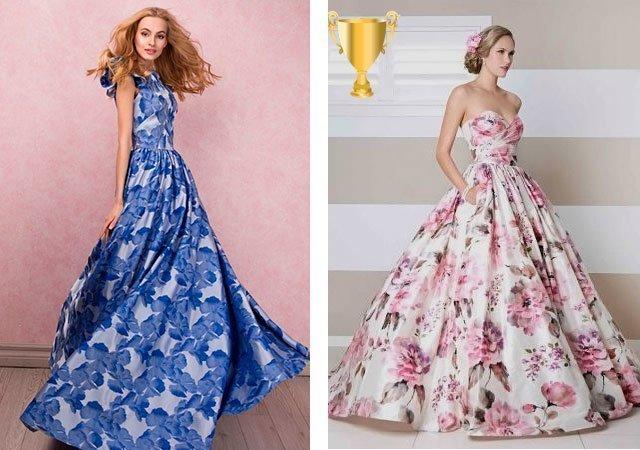 ff5a4b39c947 Платье с цветочным принтом фото
