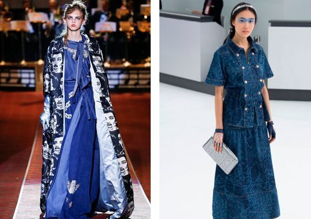 587e185a1490e27 Модные джинсовые платья 2018 фото