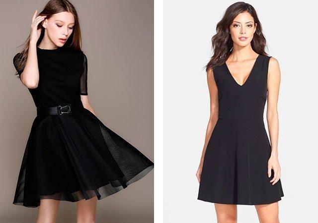 Черные платья на каждый день