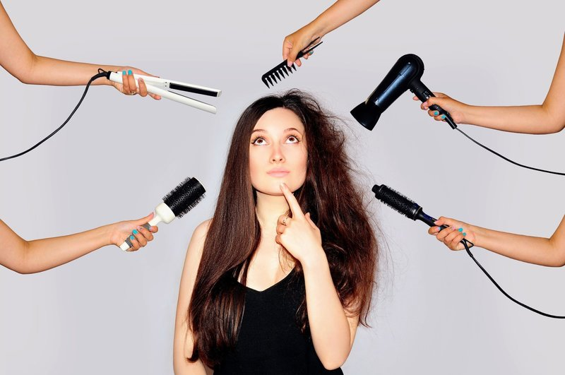 Профилактика от сечения волос