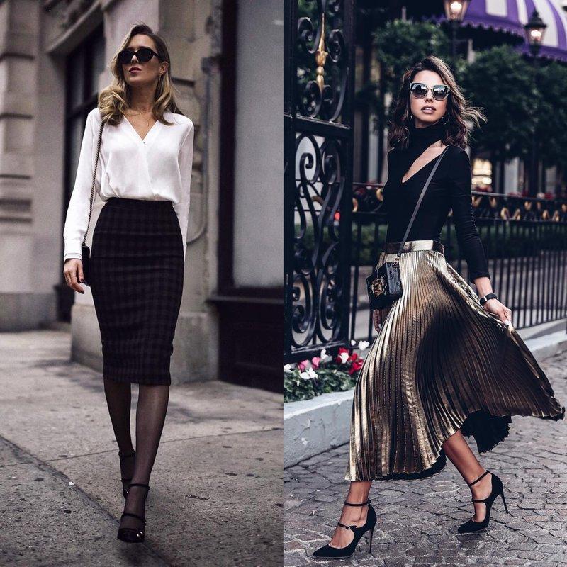 Ультрамодные образы в юбках