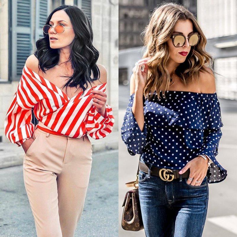 Оригинальные фасоны весенних блуз