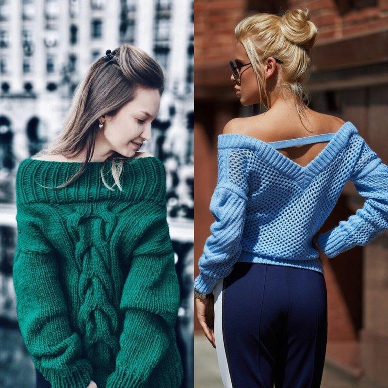 Оригинальные модели свитеров