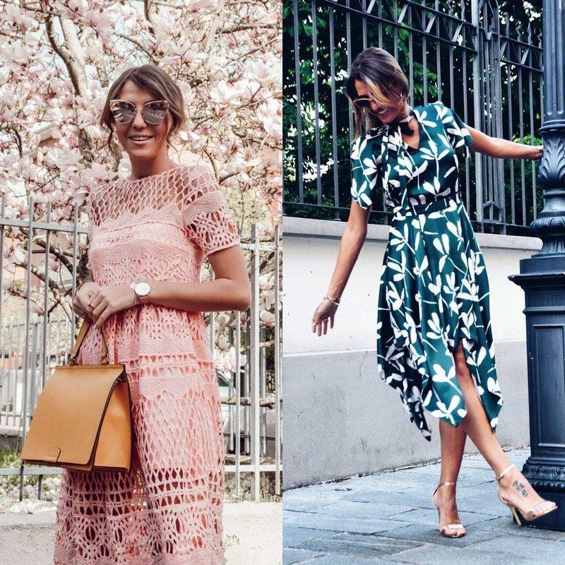 Нежные образы в весенних платьях