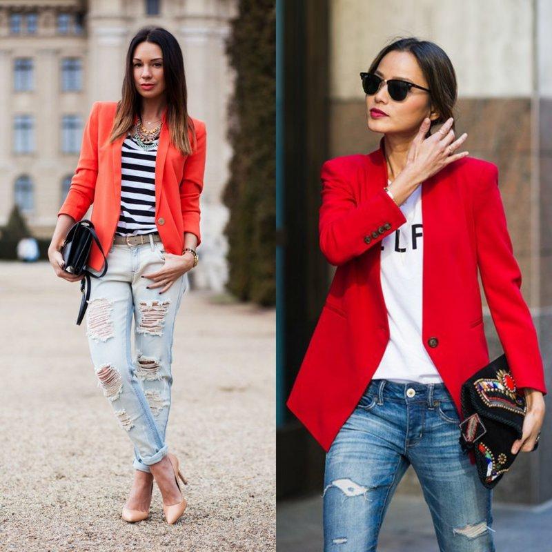 Образы в красном пиджаке