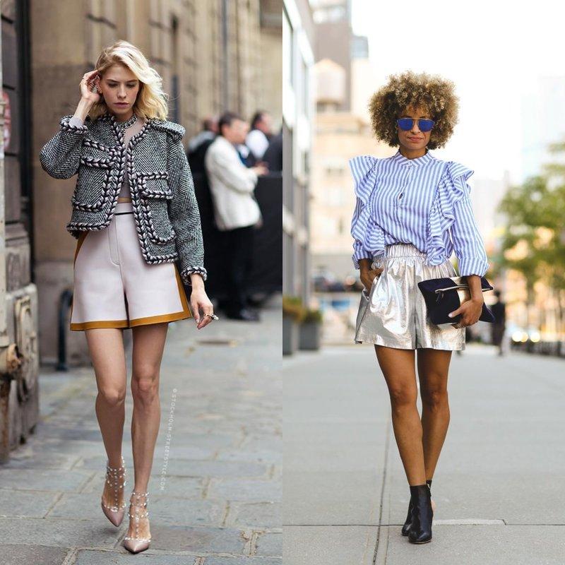 Элегантные модели шорт весна-лето
