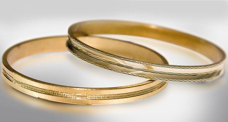 Изделия с огранкой для бракосочетания