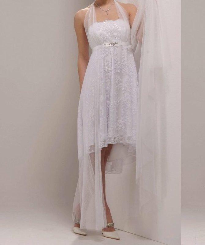Греческое короткое платье