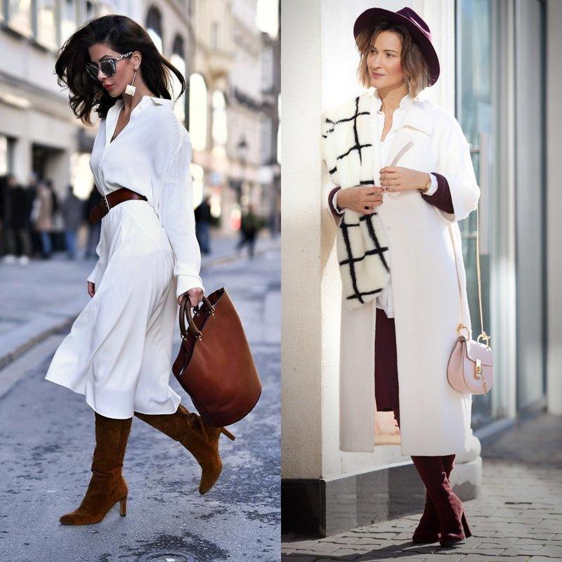 Весенние образы в белой одежде