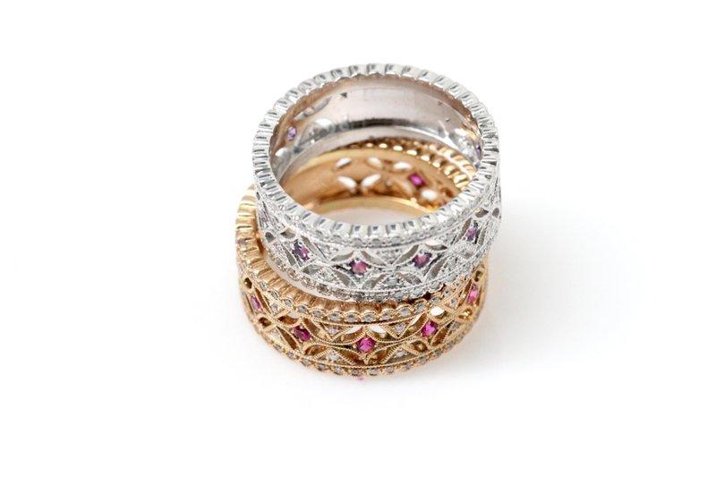 Необычные кольца антиквариат