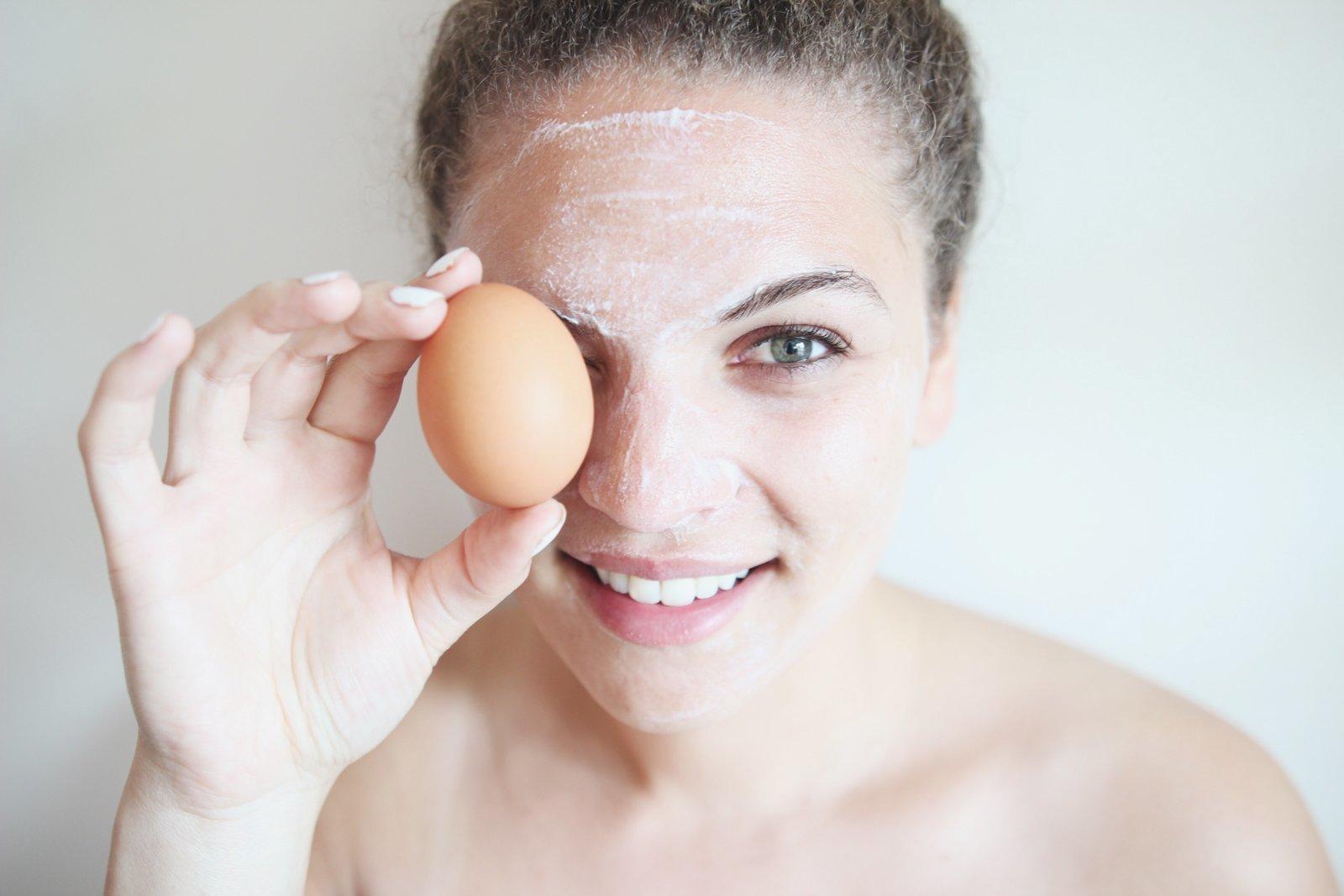 Маска для лица из яичного белка в домашних условиях