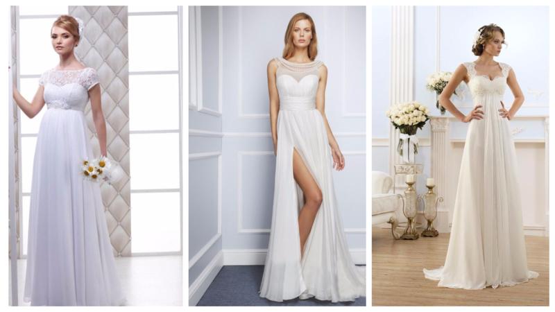 Свадебные платья греческого фасона